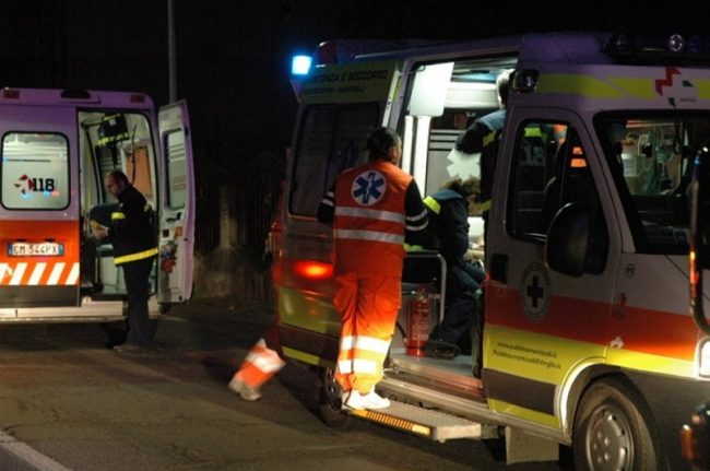 Quattro ragazzi feriti in un incidente a Sala Consilina