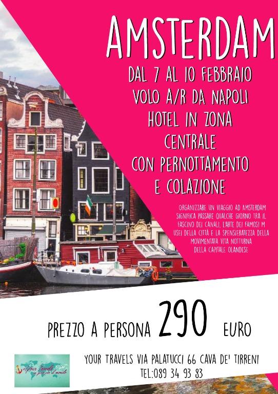 Amsterdam... dal 7 al 10 febbraio 290 euro/persona