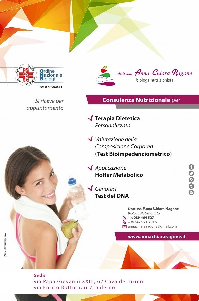 Studio di Nutrizione Umana Dott.ssa Anna Chiara Ragone