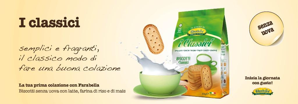 Biscotti senza glutine Farabella I CLASSICI