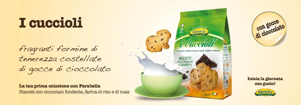 Biscotti senza glutine Farabella I CUCCIOLI