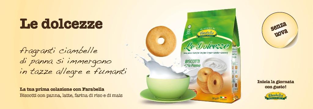 Biscotti senza glutine Farabella LE DOLCEZZE