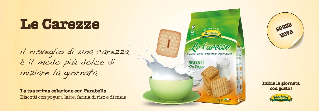 Biscotti senza glutine Farabella LE CAREZZE