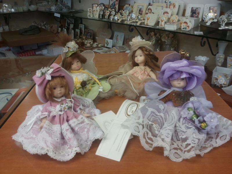 Bambole capodimonte linea infinito mis. 12 cm da sedute €24 -50%=€12