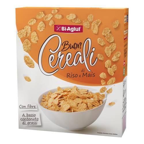 BiAglut senza glutine Cereali al riso e mais