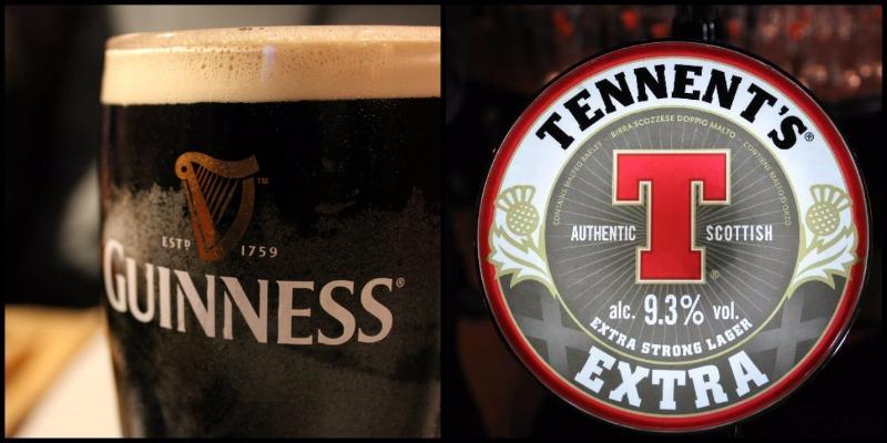 Bevi un'ottima Guinness o Tennent's Extra a Salerno