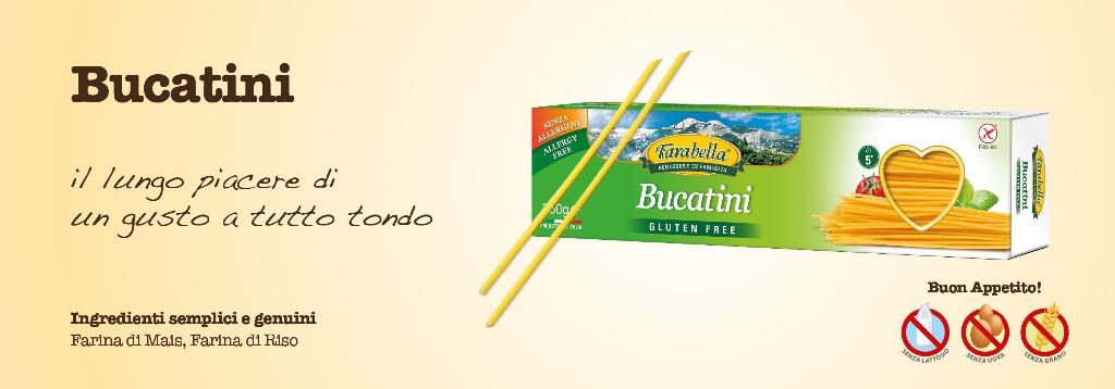 Pasta senza glutine Farabella Bucatini