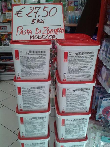 Pasta da Zucchero Modecor 5 kg in offerta a € 27.50