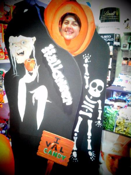 Novità! Selfie Halloween presso il Candy Candy! Vieni a fare la tua foto mostruosamente simpatica!!!