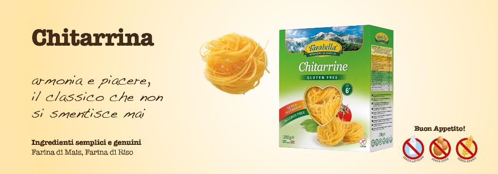Pasta senza glutine Farabella Chitarrina
