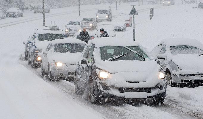 In arrivo la neve sulla provincia di Salerno