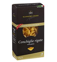Pasta Senza Glutine MASSIMO ZERO Conchiglie rigate