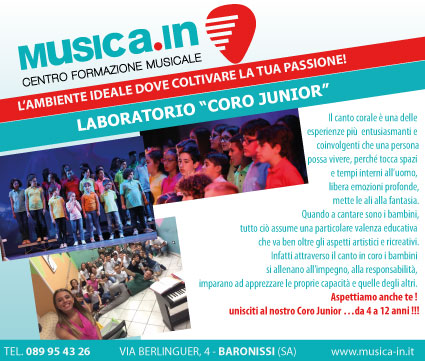 Laboratorio CORO JUNIOR