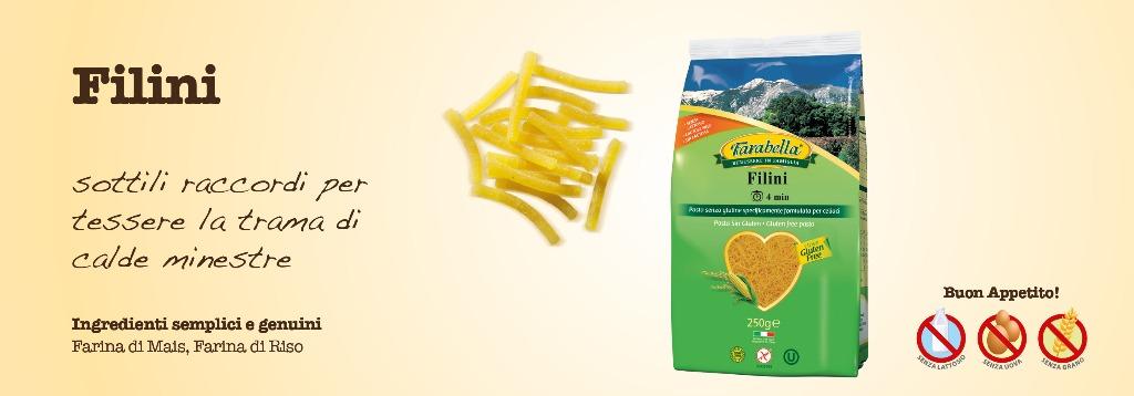 Pasta senza glutine Farabella Filini