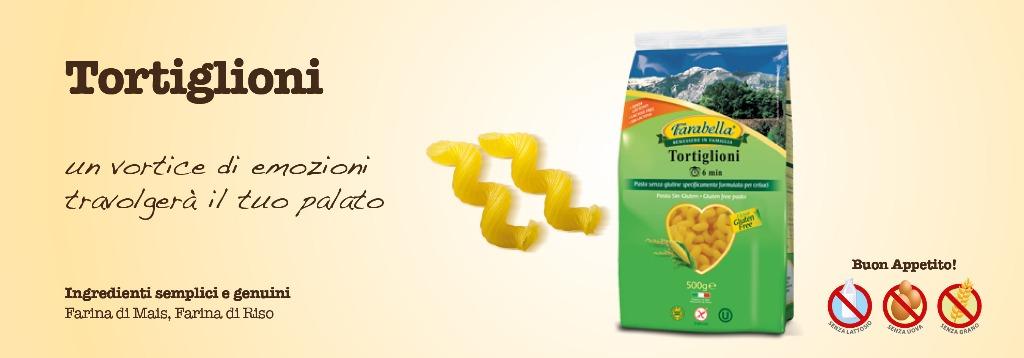 Pasta senza glutine Farabella Tortiglioni