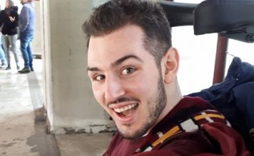 Donato, il giovane paralizzato dopo un incidente, torna a casa