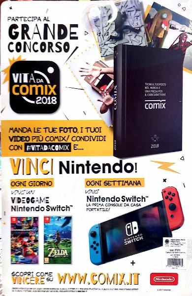 Partecipa al grande concorso VITA DA COMIX 2018... E vinci Nintendo!