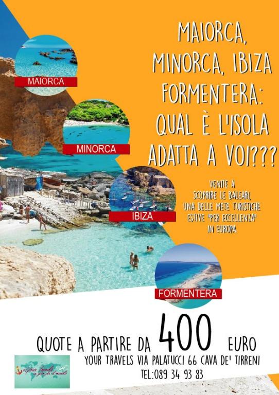 MAIORCA, MINORCA, IBIZA FORMENTERA: qual è l'isola adatta a voi???
