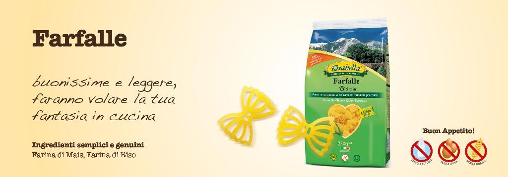 Pasta senza glutine Farabella Farfalle