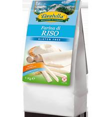 Farina di riso senza glutine Farabella