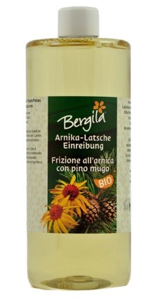 Frizione all'arnica con pino mugo 500 ml bio
