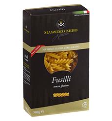 Pasta Senza Glutine MASSIMO ZERO Fusilli