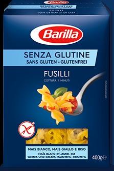 Pasta Barilla senza glutine FUSILLI