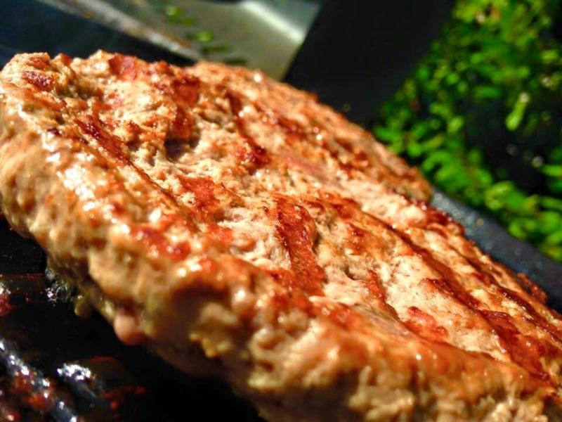 Hamburger di 100% Bufalo Campano