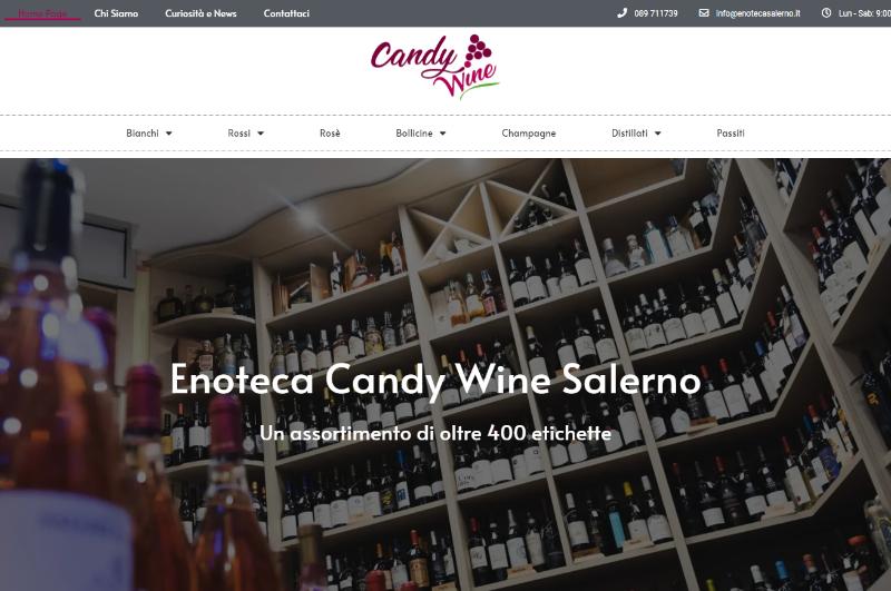È con piacere che Vi comunichiamo la nascita del nostro nuovo sito web: www.enotecasalerno.it