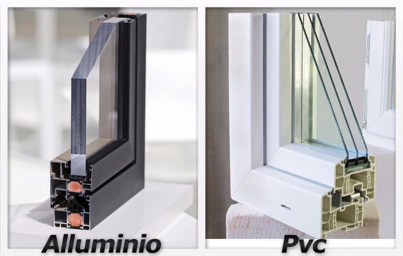 Alluminio o pvc?
