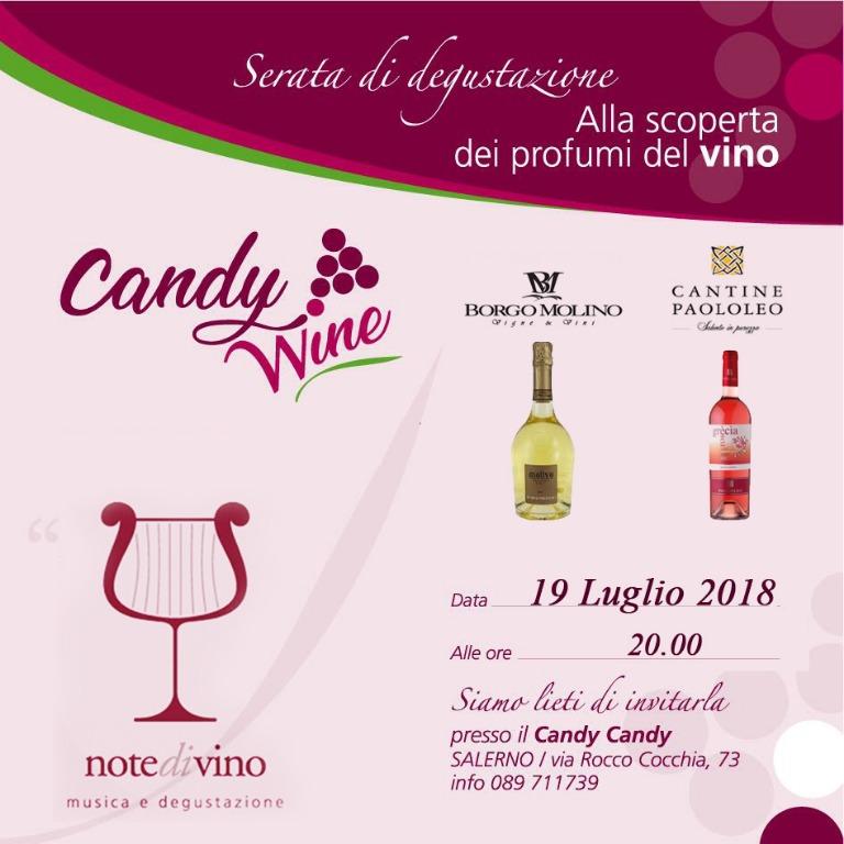 19 Luglio ore 20 - Serata di degustazione... Alla scoperta dei profumi del vino