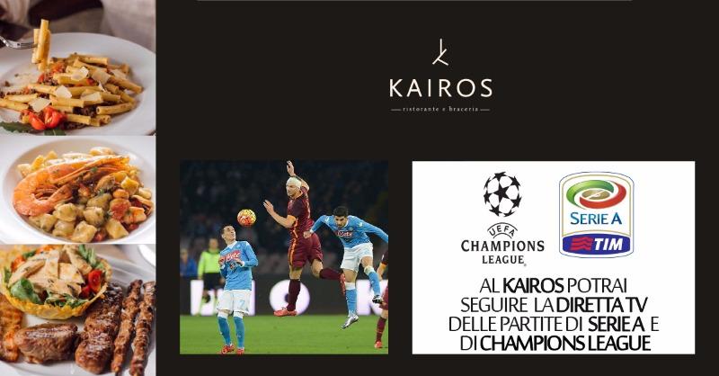 Diretta TV partite di Serie A e Champions League