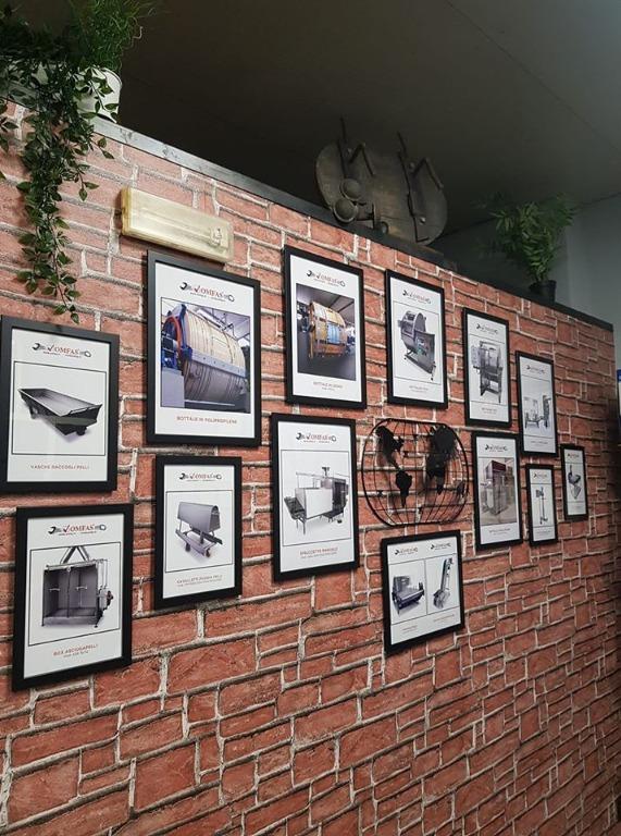 la nostra produzione in una parete