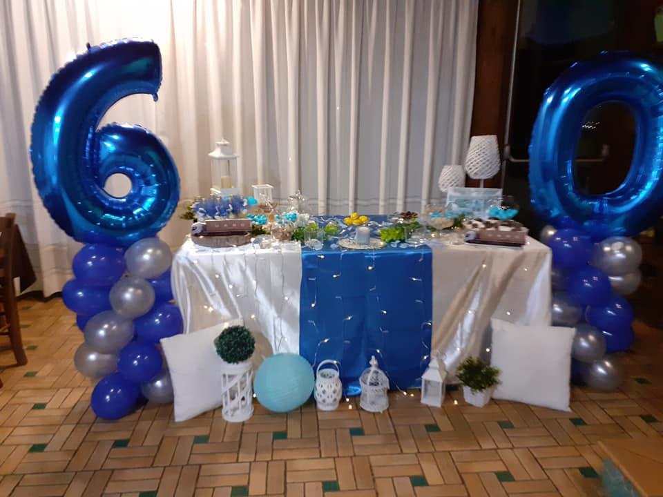 Festeggia i tuoi 60 anni... decorazioni a tema