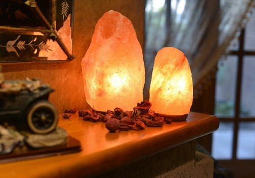 Lampade di Sale dell'Himalaya