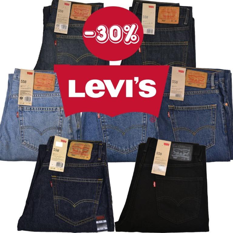 Super Promo: sconto del 30% su jeans Levi's