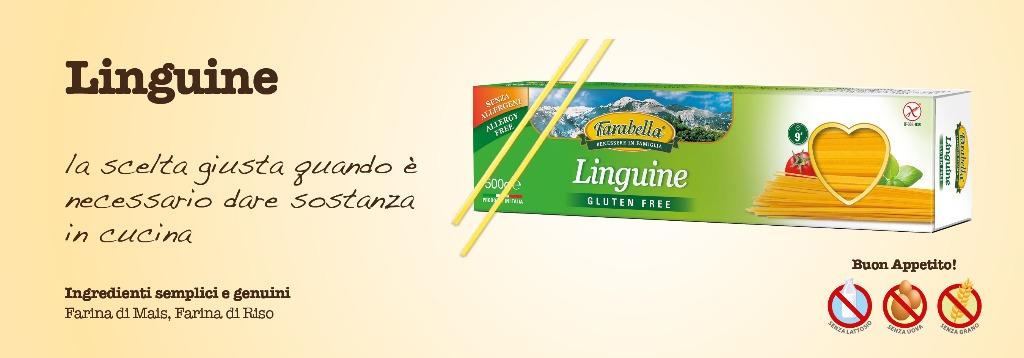 Pasta senza glutine Farabella Linguine