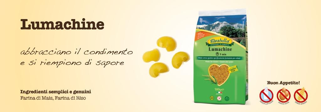 Pasta senza glutine Farabella Lumachine