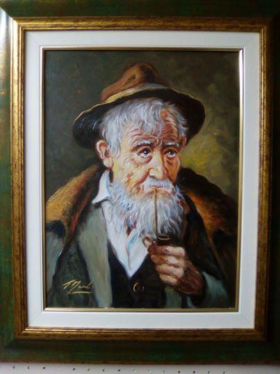 Opera 30x40 olio su tela dell' artista Tristano Marco dal titolo