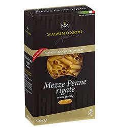 Pasta Senza Glutine MASSIMO ZERO Mezze penne rigate