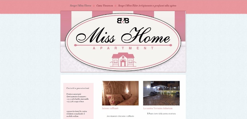 Miss Home By MIss Elite - www.misshome.it
