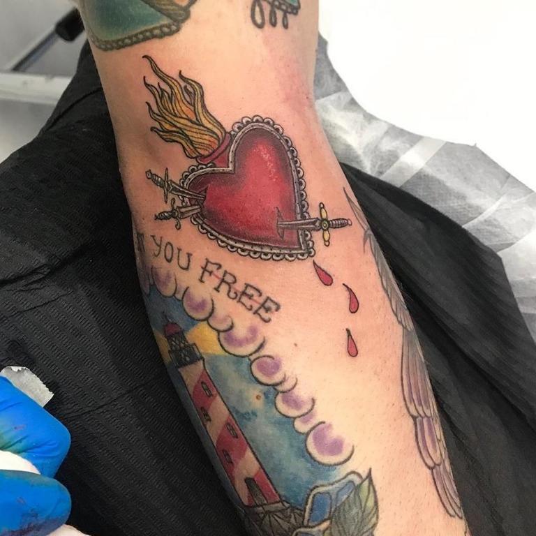 Tattoo New School