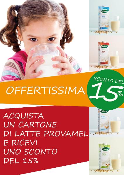 Offertissima Latte Provamel