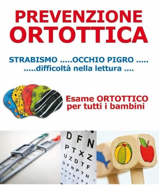 Prevenzione Ortottica