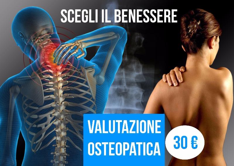 Scegli il Benessere. Effettua una Valutazione Osteopatica