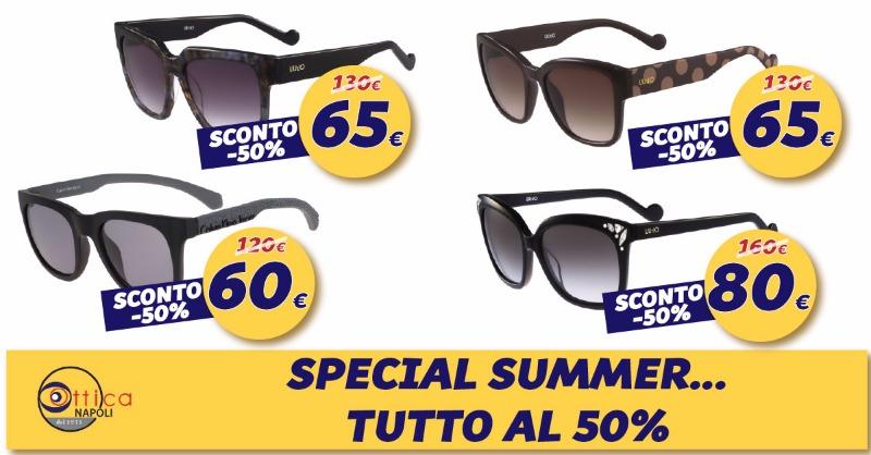 Special Summer... tutto al 50%