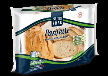 NutriFree Panfette, pane casereccio a fette