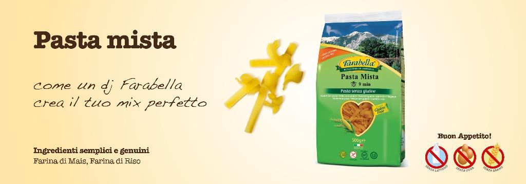 Pasta senza glutine Farabella Pasta mista