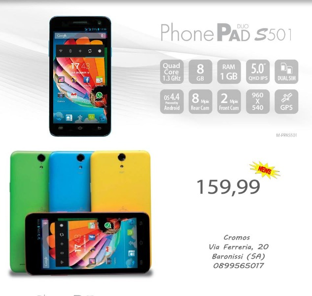 PhonePad Duo S501