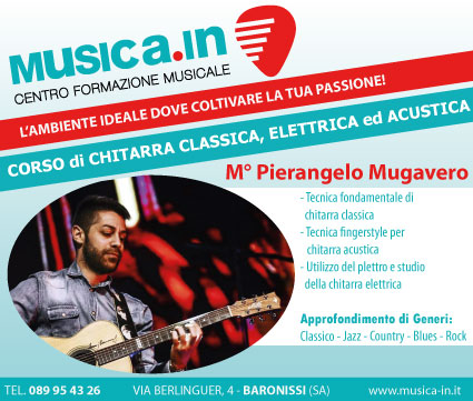 Corso di Chitarra Classica, Elettrica ed Acustica